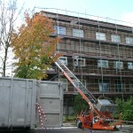 Blok Łobodno - demontaż azbestu z elewacji