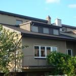 Dom jednorodzinny Wyczerpy - blachodachówka,obrobki