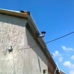 Dom jednorodzinny Wyrazów-przedłużanie okapów