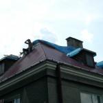 Dom jednorodzinny ul.Jurajska Cz-wa - blacha trapezowa