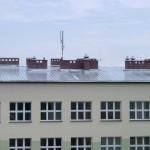 Szkoła we Wręczycy Wielkiej blacha trapezowa