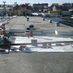 Termomodernizacja dachu ul.Srebrna cz-wa